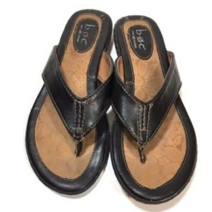 Born Sandals size 6 Brown leather